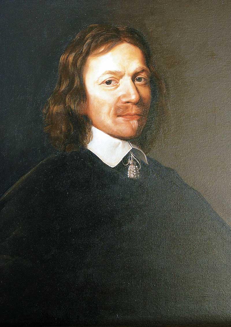 « Portrait de Rémi Tronchot »  PHILIPPE DE CHAMPAIGNE, 1650 Les Musées royaux des Beaux-Arts de Belgique, Bruxelles