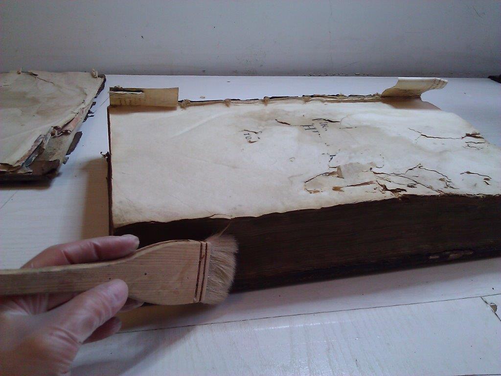 Restauration d'un livre