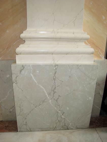 Faux-marbre