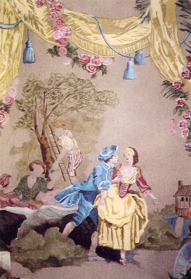 Divers décors peints